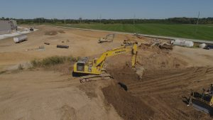Kelsey Construction LLC Site Excavation and Grade Control Services Louisville KY