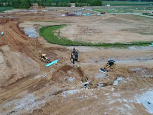 Storm and Sanitary Sewer Installation Services Kelsey Construction Louisville KY
